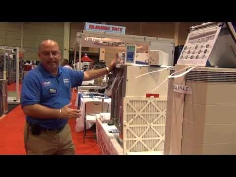 Gerry Gagliardi of Back to New Heating & Cooling on IQAir Perfect 16 & IQAir Health Pro Plus