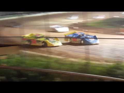 Amsoil Speedway Twin 25's Late Models, 1st #85 John Kaanta, 2nd #7 Jesse Glenz, 3rd #28 Jimmy Mars