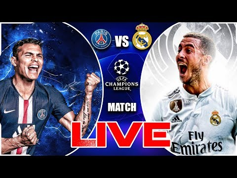 🔴LIVE MATCH - PSG VS REAL MADRID