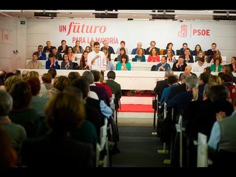 Intervención Pedro Sánchez en el Comité Federal
