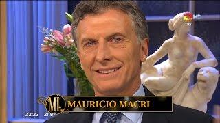 "M.Macri en ""La noche de Mirtha"", de M.Legrand HD Completo - 14/11/15"
