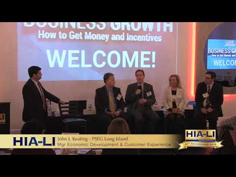 HIA-LI's Economic Incentive Brief Business Growth: How to Get Money and Incentives
