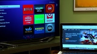 Stream media to a Roku from a laptop