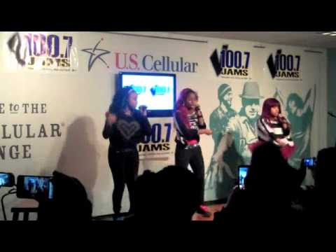 "The OMG Girlz perform ""So Official"""
