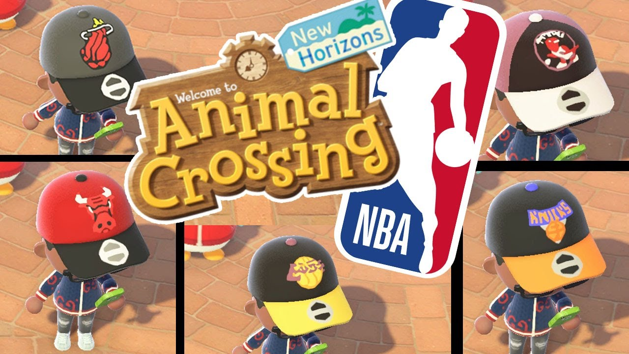 Animal Crossing New Horizons Nba Team Logo Hats Part 1 Youtube