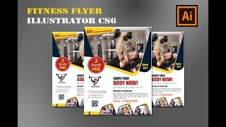 Professional fitness flyer design -MS Graphics | Latest flyer design online tutorial