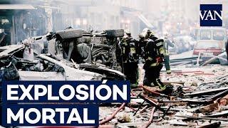 Dos muertos en una explosión gas en París