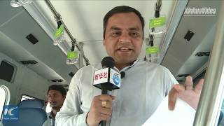Baixar China's BYD introduces 40 electric buses in India's Hyderabad