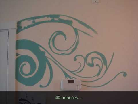 How-to add a splash of color to your wall..