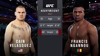 ULTRA REAL | EA Sports UFC 3 | Francis Ngannou vs. Cain Velasquez