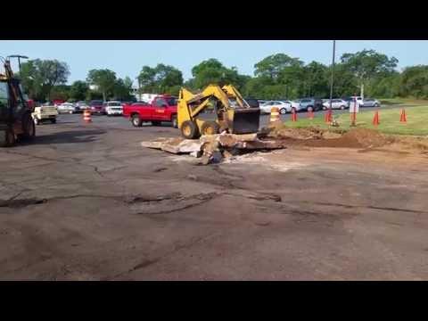 Bank of America Concrete Removal