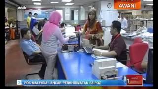 Pos Malaysia lancar perkhidmatan EziPoz