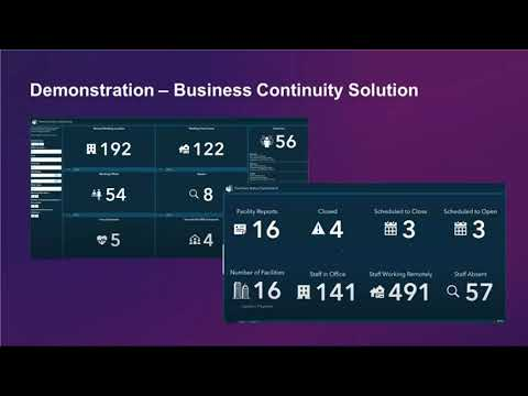 Manage your business recovery with ArcGIS