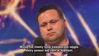 (Napisy)Brytyjski Mam Talent - Paul Potts