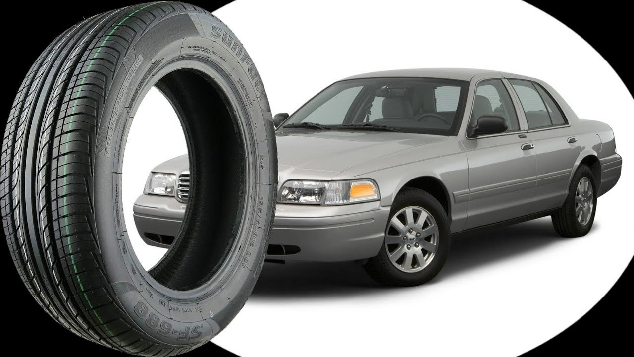 Original Tire Size For All Ford Crown Victoria 1998 2011 Youtube