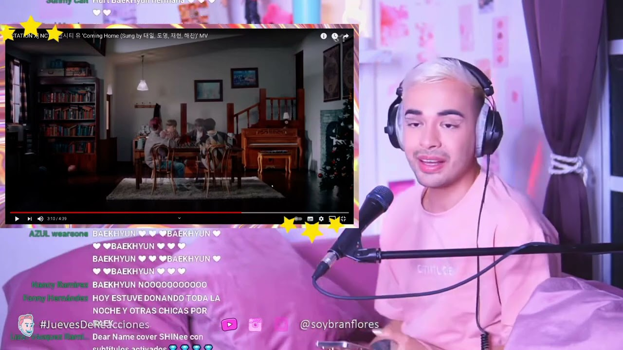 NCT U - Coming Home MV   GAY REACCIONA