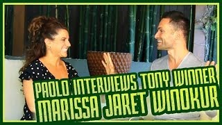 At home with Tony Award Winner Marissa Jaret Winokur!! thumbnail