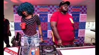 Heavy k and moonchild sanelly debuted their new collaboration track at the bacardi house party sessions event. song's beat is iconic to k, filled with african beats sounds that are ...