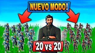 *NUEVA ACTUALIZACIÓN* NUEVO MODO 20 vs 20! Fortnite: Battle Royale | Zoko