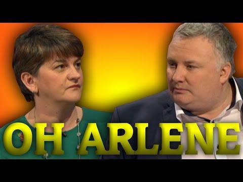 Nolan Live: Arlene Foster Tip Toes Around Gay Marriage!