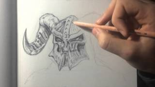 Demon / Speed Drawing