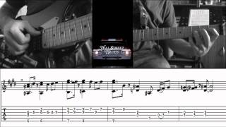 Hill street Blues theme by Cloux (+tab and guitar lesson)