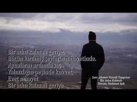 Ahmet Hamdi Tanpınar -Bir Adın Kalmalı Şiiri  Mehmet Işık 