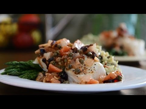 How to Make Flounder Mediterranean | Fish Recipes | AllRecipes
