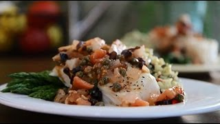 Fish Recipes - How To Make Flounder Mediterranean