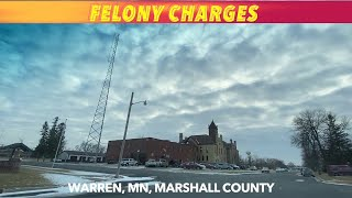 Felony Charges In Marshall County District Court