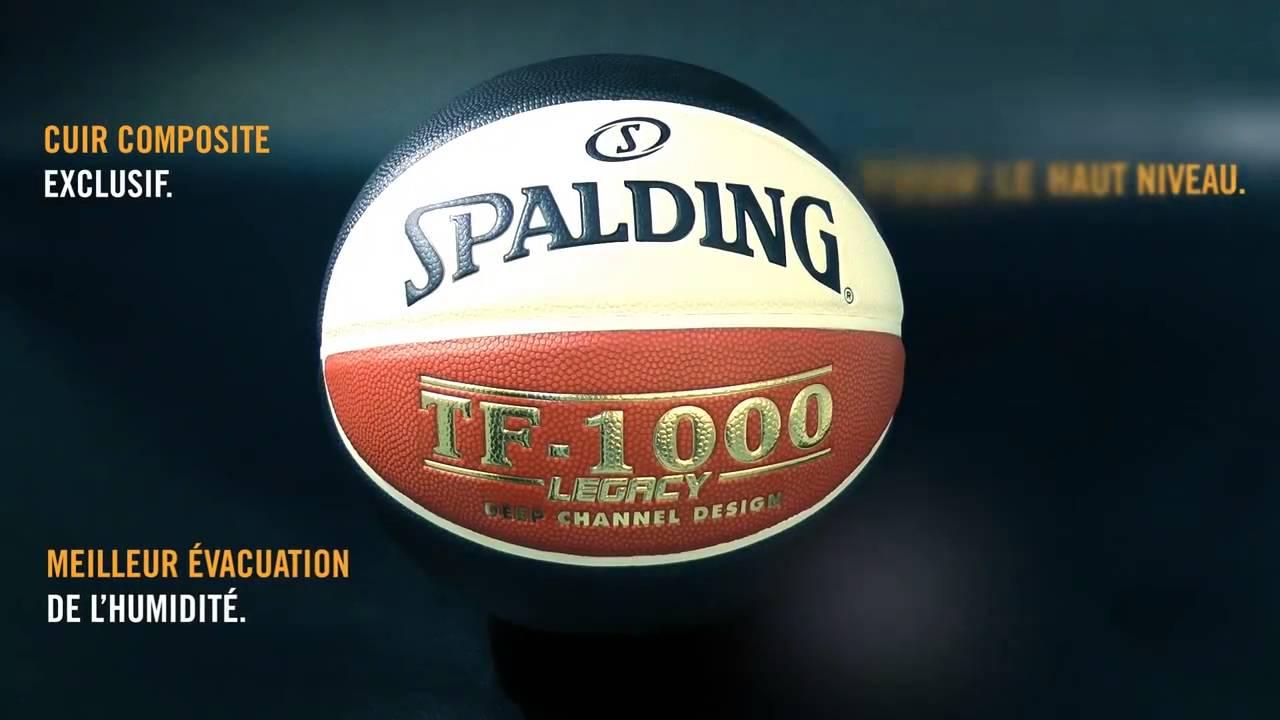 12f03dff62f Le nouveau ballon LNB SPALDING - YouTube
