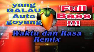 VICKY SALAMOR - Waktu Dan Rasa Remix || Asek Lakon FL STUDIO MOBILE