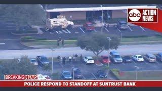 Mass Shooting in Florida Bank.