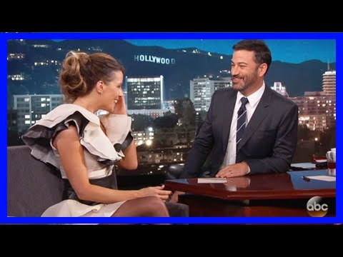 Kate beckinsale awkwardly reveals daughter's crush on jimmy kimmel