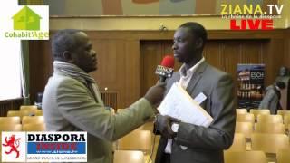 LIVE ZIANA TV LUXEMBOURG. Interview de M. Moussa SECK, coordonnateur de Cohabit'AGE Luxembourg