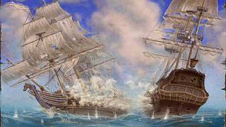 AoP: Caribbean Tales #42 - Capturing my first 1st Rate Ship of the Line!