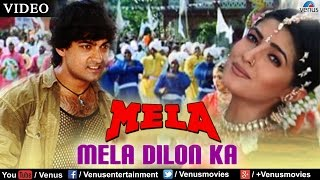 Download Video Mela Dilon Ka Aata Hai Full Video Song | Mela | Aamir Khan, Twinkle Khanna, Faisal Khan | MP3 3GP MP4