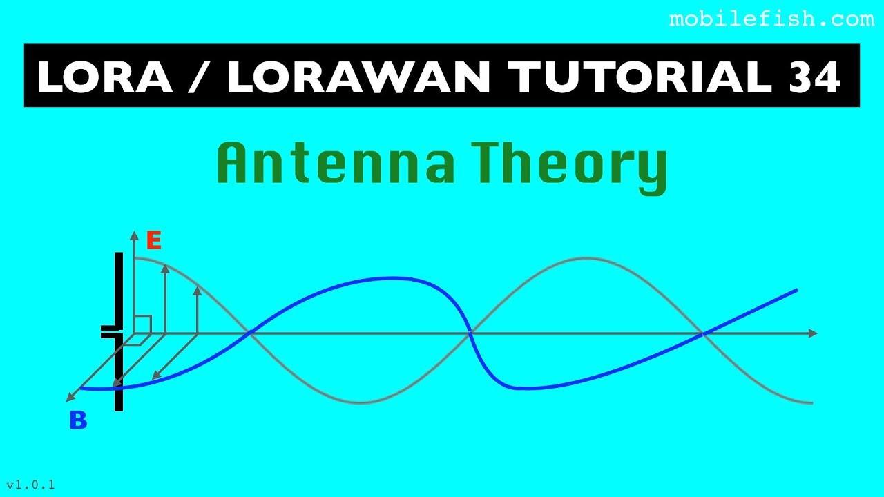 LoRa/LoRaWAN tutorial 34: Antenna Theory