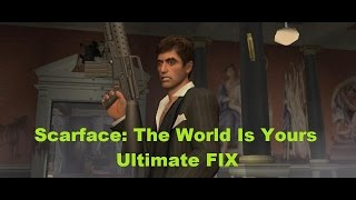 Scarface game FIX PC Windows 7/8 + How to dance
