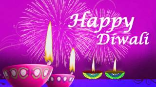 Happy Diwali Wishes Background Animated Video