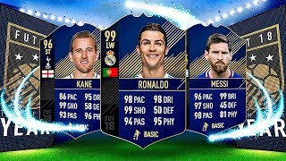 TOTY RONALDO, MESSI AND KANE 100K PACKS!! -FIFA 18 TEAM OF THE YEAR PACK OPENING!