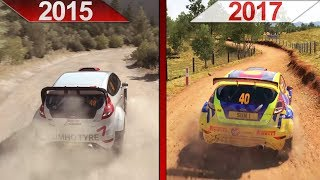 SBS Comparison | DiRT Rally (2015) vs. DiRT 4 (2017) | PC | ULTRA