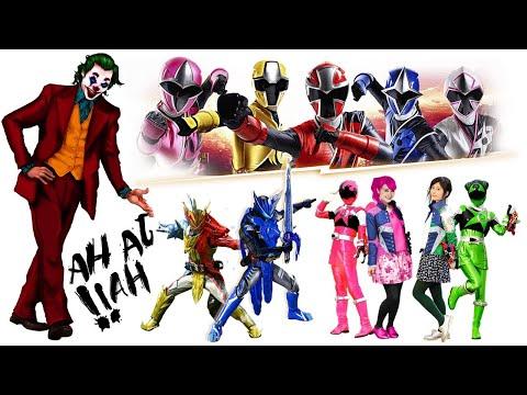 DJ Lay Lay Lay JOKER    Versi Ninja Steel Rangers - Kyurangers Dan Kamen Rider Saber, Kerrren Banget