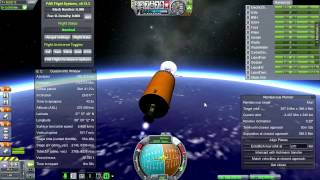 Kerbal Space Program (0.23.5) - Realism Overhaul 032 - Clarke Lunar Relay