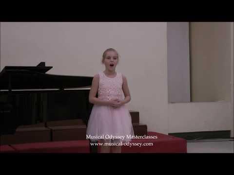 Musical Odyssey masterclasses 2017:  singer Scarlett  Banks