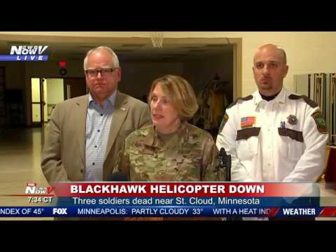3 dead in Minnesota National Guard helicopter crash