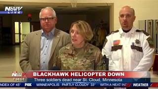 BLACK HAWK GOES DOWN: National Guard gives update to MN helicopter crash