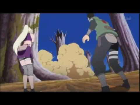 Naruto shipudden Team Kakashi vs Akatsuki HD