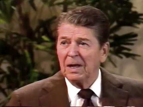 President Ronald Reagan is Interviewed on the U.S. Constitut