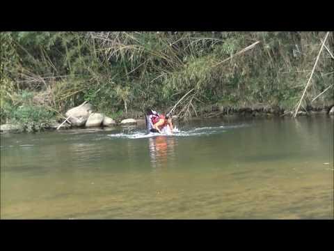 2016 8 22 HIROSHIMA still water free style kayak